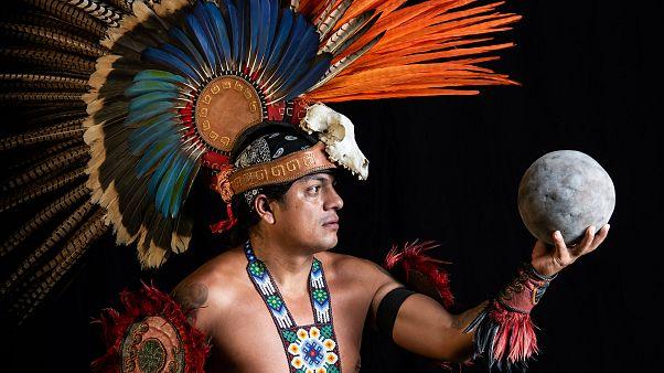 Azteklerin insan kurban ederek oynadığı Ulama, 500 yıl sonra Meksika'ya döndü