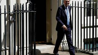Chancellor of the Exchequer Philip Hammond leaves Downing Street in London, Britain, July 24, 2019.