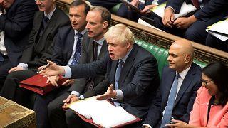رئيس الوزراء البريطاني في البرلمان اليوم