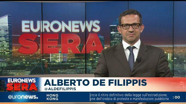 Euronews Sera TG europeo, edizione di mercoledì 4 settembre 2019