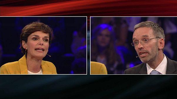 Vor Österreich-Wahl: Erster Schlagabtausch im TV-Duell