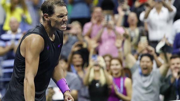 Nadal pasa a las semifinales del US Open al ganar a Schwartzman