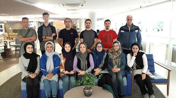 اعضای تیم ملی تیراندازی ایران در مسابقات جهانی برزیل