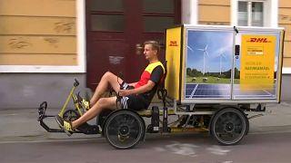 Велосипед – грузовик для города