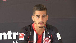 André Silva apresentado no Eintracht Frankfurt