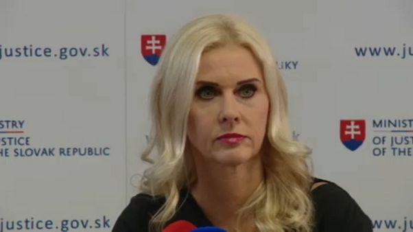 Σλοβακία: Παραιτήθηκε η αναπληρώτρια υπουργός Δικαιοσύνης