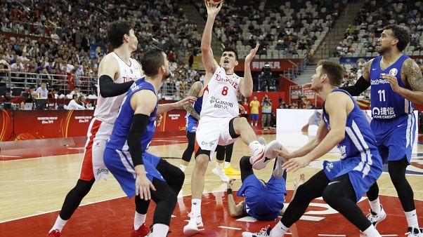 FIBA Dünya Kupası: E Grubu son maçında Çekya'ya yenilen Türkiye son 16'ya kalamadı