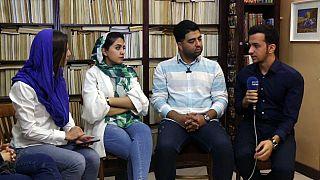 La juventud iraní toma la palabra