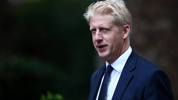 Britain's Minister of State for Business, Energy and Industrial Strategy Department and Education Department Jo Johnson is seen outside Downing Street in London, Britain.