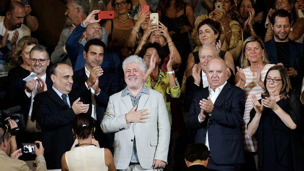 Pedro Almodovar en el Festival de Venecia, el 29 de agosto de 2019.