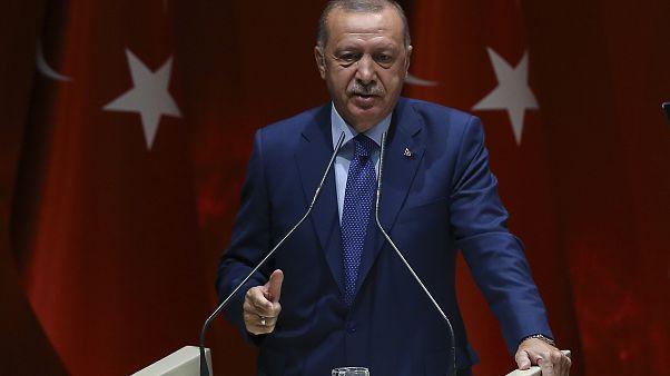 """Erdoğan'dan Güvenli Bölge'de ev önerisi: """"Suriyelilere bahçeli evler yapsak, orada ekip biçseler"""""""