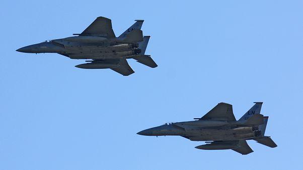 مقاتلات إف-15 يمتلك الجيش السعودية منها
