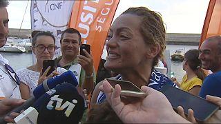 Mayra Santos garante lugar na história