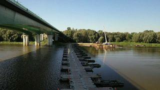 Warschau: Neue Abwasserrohre für die Weichsel