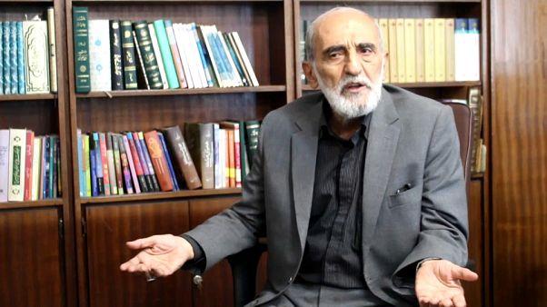 Screenshot: Hossein Shariatmadari speaks to Euronews