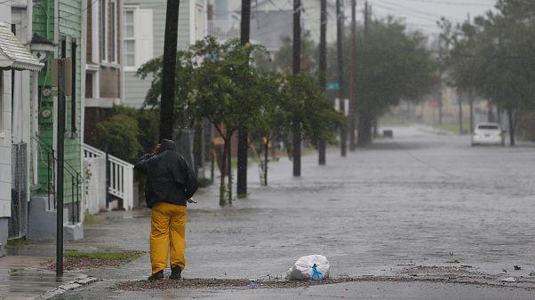 Hurrikan Dorian unterwegs nach Norden