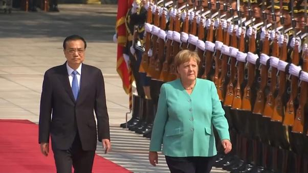 Hongkong und andere heikle Themen: Merkel in Peking