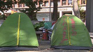 Madrid, sempre più inquilini finiscono in strada per il caro affitti