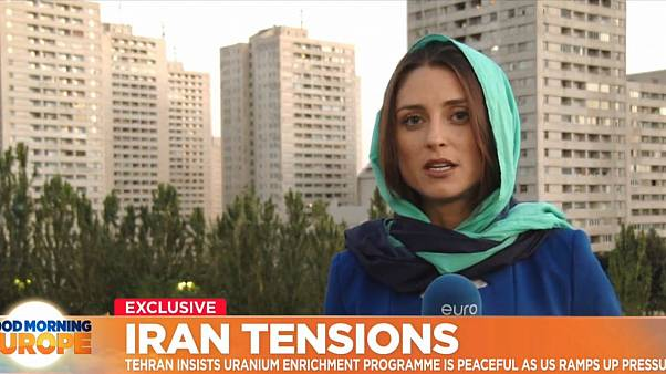 Euronews is in Tehran to see life in the capital under the pressure of international sanctions