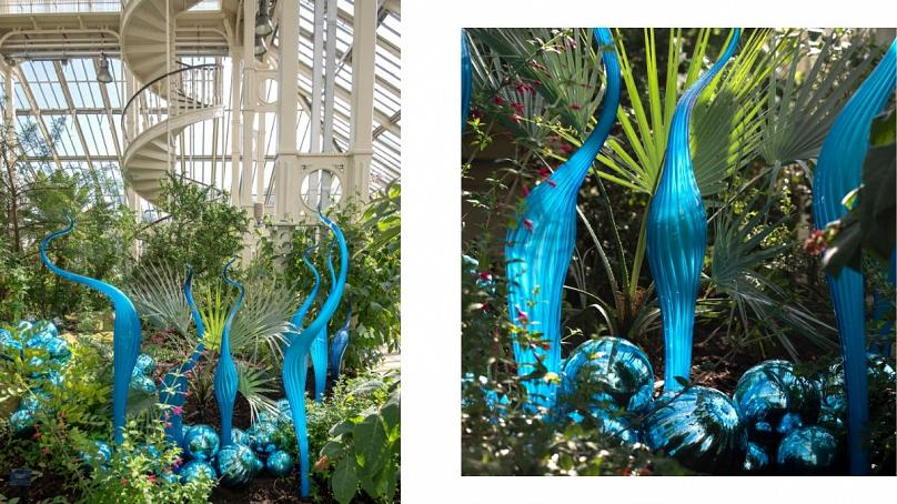 2015, Royal Botanic Gardens, Kew, London, installed 2019 Artwork © Chihuly Studio