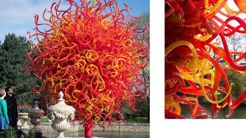 2018, Royal Botanic Gardens, Kew, London, installed 2019 Artwork © Chihuly Studio