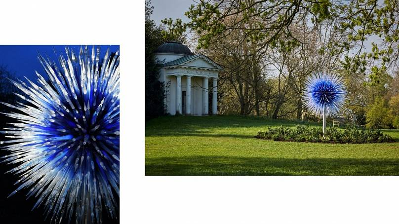 2010, Royal Botanic Gardens, Kew, London, installed 2019 Artwork © Chihuly Studio