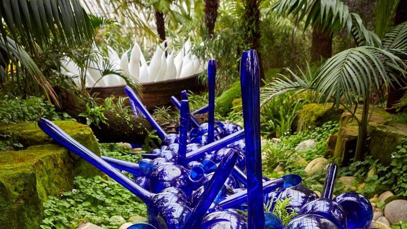 1999, Royal Botanic Gardens, Kew, installed 2019 Artwork © Chihuly Studio