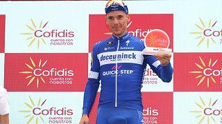 Philippe Gilbert, vincitore della 12.tappa della Vuelta.