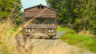 The world's fastest garden shed travels at 80mph