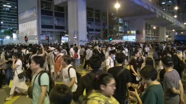Watch again: Fresh protests in Hong Kong despite extradition bill withdrawal