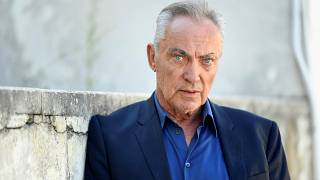 "The 76th Venice Film Festival - Screening of the film ""The Painted Bird"" in competition - Venice, Italy September 3, 2019 - Actor Udo Kier poses before an interview."
