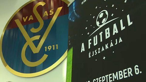 Az épülő Puskás Arénát is meg lehetett nézni a második Futball Éjszakáján