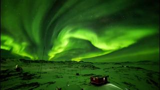 Watch: Aurora borealis light up Antarctic sky and ice