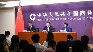 Les grands dirigeants internationaux réunis au sommet des multinationales à Qingdao