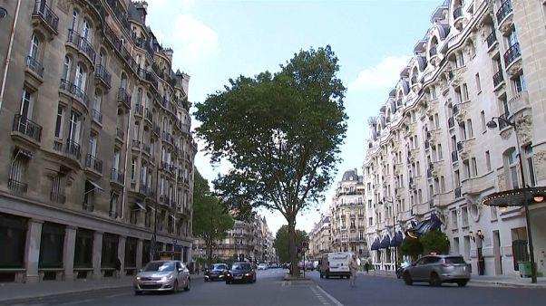 Immeubles hausmanniens à Paris - archives