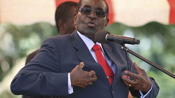 رئيس زيمبابوي السابق روبرت موغابي