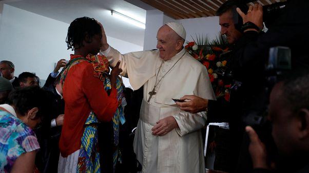 Papa Francisco conduz missa em Maputo