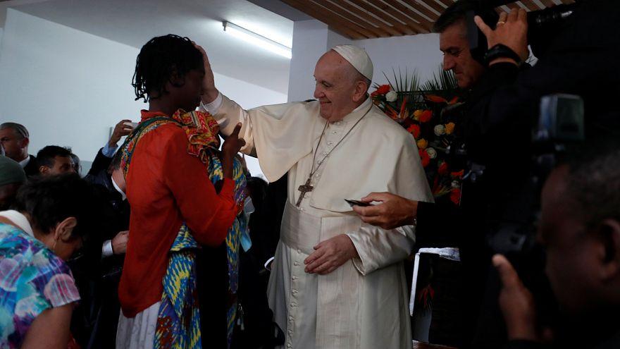 La messa del Papa in Mozambico