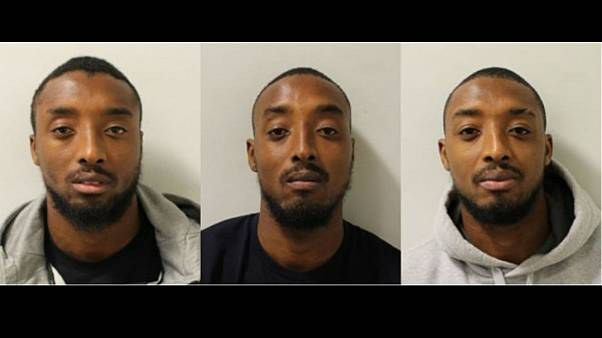Identical triplets all jailed for the same crime