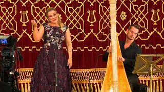 Zart und kraftvoll beim Enescu-Festival: Diana Damrau trifft auf Xavier de Maistre