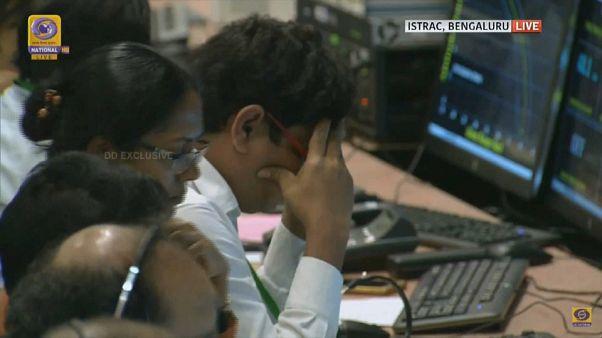 La India pierde la comunicación de 'Vikram', la sonda espacial que debía llegar a la Luna