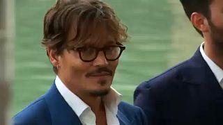 Johnny Depp a Velencei Filmfesztiválon