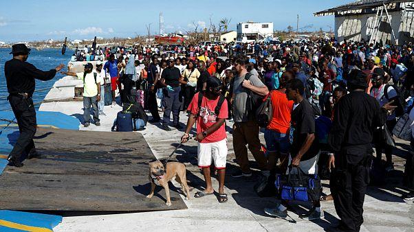 ویرانیهای گستردۀ طوفان دوریان؛ تلاش هزاران نفر برای فرار از جزایر باهاما