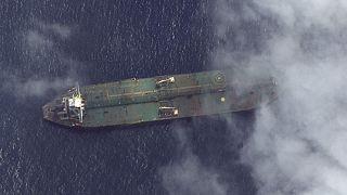 عکسهای ماهوارهای: «آدریان دریا ۱» به بندر طرطوس سوریه رسیده است