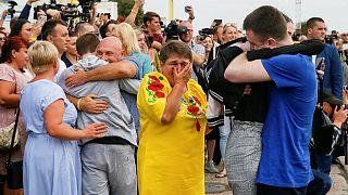 مبادلۀ ۷۰ زندانی روس و اوکراینی؛ اعلام آمادگی دو کشور برای بهبود روابط