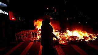 بحران در هنگ کنگ؛ مرکل خواهان خویشتنداری و گفتگوی مسالمت آمیز شد