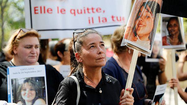 قتل زنان در فرانسه؛ جملات شوکآور بر دیوارهای پاریس