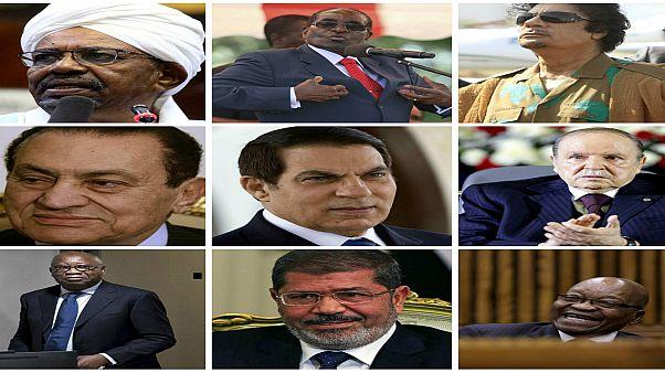 القذافي ومبارك والبشير ومرسي وغيرهم.. من هم الرؤساء الأفارقة الذين اضطروا للتخلي عن السلطة منذ 2010