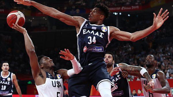 Μουντομπάσκετ: «Έσπασε» τα καλάθια η Ελλάδα-'Ηττα από τις ΗΠΑ