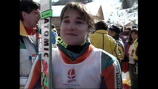 Miles de personas se despiden de la primera campeona olímpica española